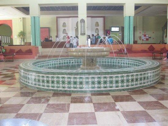 Iberostar Saidia : area de entrada do hotel