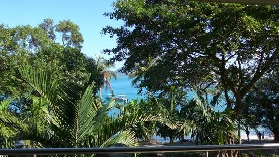 Fitzroy Island Resort: view from room