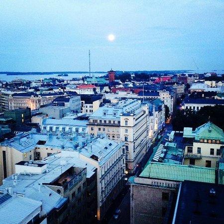 Downtown Helsinki by night - Picture of Ateljee Bar, Helsinki - TripAdvisor