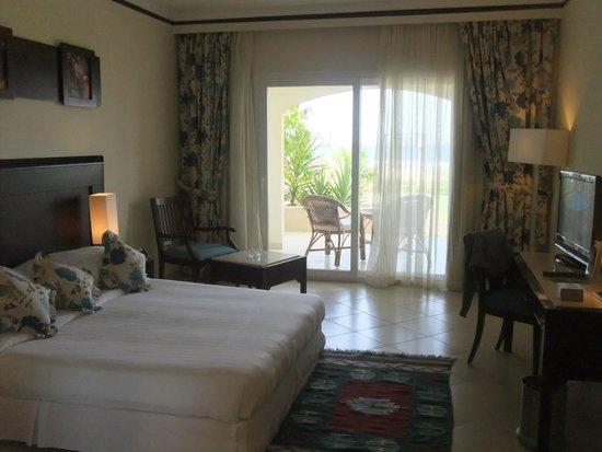 Concorde Moreen Beach Resort & Spa Marsa Alam : camera fronte mare