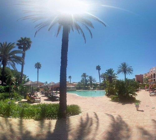 Jardim da Meia Praia: Pool view