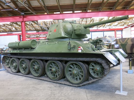 Munster, Germany: T-34/85