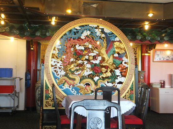 Phongmun Restaurant Sdn. Bhd: A pretty intricate wooden divider