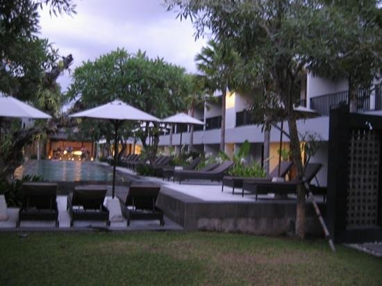 Amadea Resort & Villas: The Main Pool Area from Reception