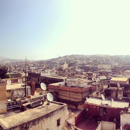 Riad Dar Guennoun : Panorama dalla terrazza