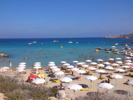 Grecian Park Hotel: Konnos bay