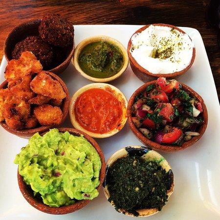 Zoola: Lovely falafel, cauliflower and dips