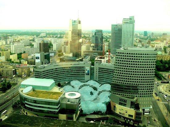 Warsaw Marriott Hotel: Widok z okna