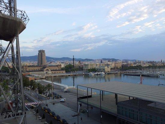 Eurostars Grand Marina Hotel: utsikt från balkongen