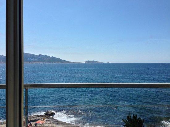 Le Petit Nice : Vue depuis notre table