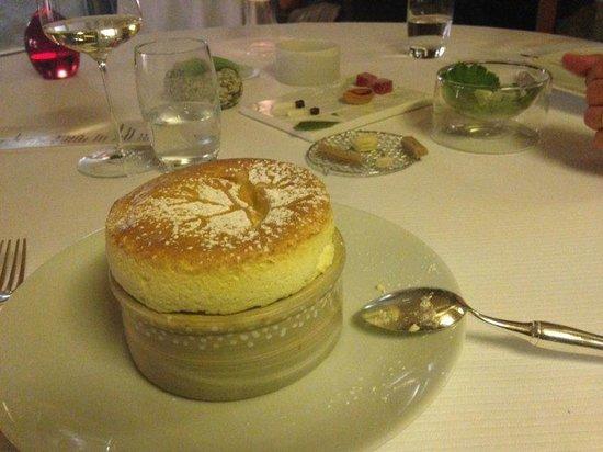 Restaurant etoile Flocons de Sel: Soufflè