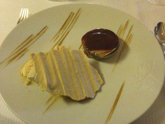 Restaurant etoile Flocons de Sel: Dolce al cioccolato