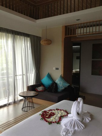 Mandarava Resort and Spa: nice couch to put your stuff or sit