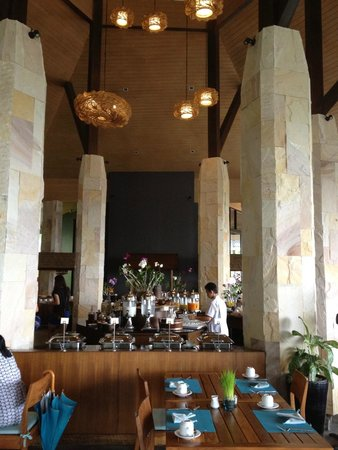 Mandarava Resort and Spa: Breakfast area