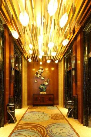 Doubletree by Hilton Chongqing Wanzhou: Elevator waiting area