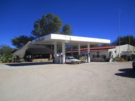 Solitaire bakery: La station-service (la boulangerie est à droite, pas visible)