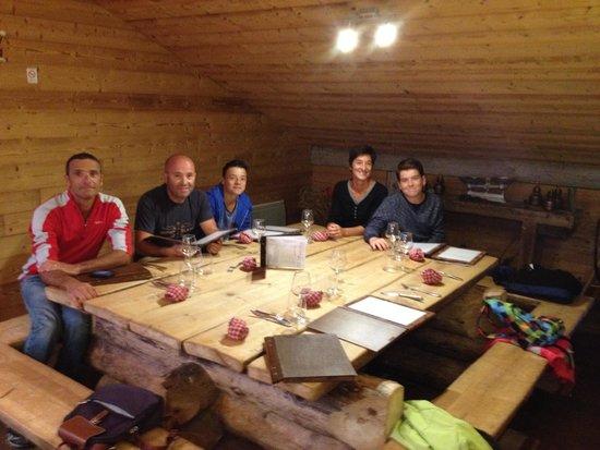 restaurant l'épicéa : Repas entre amis