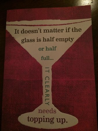 The Fat Goose Bistro: Food for thought...