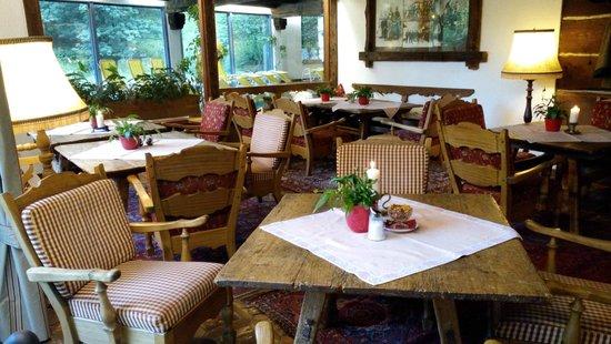 Hotel Trattlerhof: Scorcio salone interno