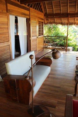Tsara Komba Lodge : Room deck