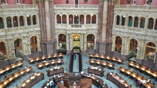 Library of Congress: Yes.. this library is a beauty..