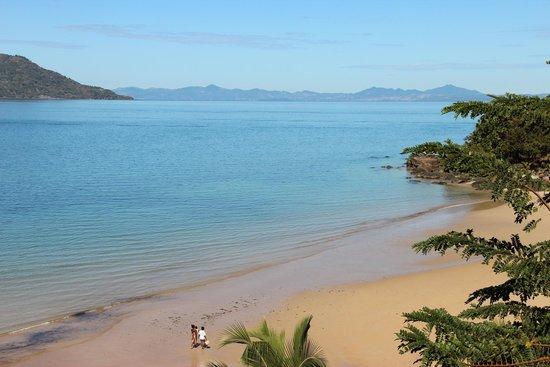 Tsara Komba Luxury Beach Forest Lodge : Beach view