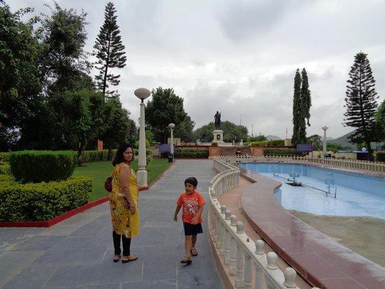 Maharana Pratap Memorial: Rana Pratap Statue at the Background
