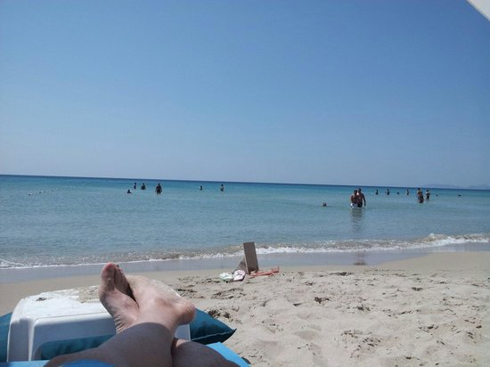 Ramo Beach: Una vista del mare dalla spiaggia