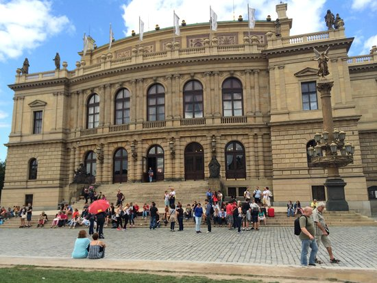 SANDEMANs NEW Prague Tours: Rudolfinum, music hall in Prague. Home to Czech Philharmonic Orchestra.