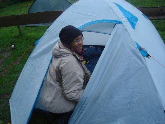 Camping Zeeburg: En mode camping...
