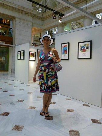 Union Station: Здесь проходила выставка детских работ