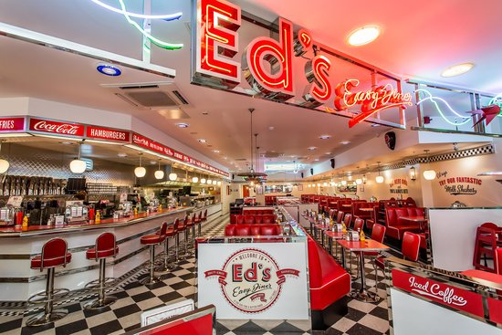 Ed's Easy Diner Churchill Square, Brighton - Restaurant ...