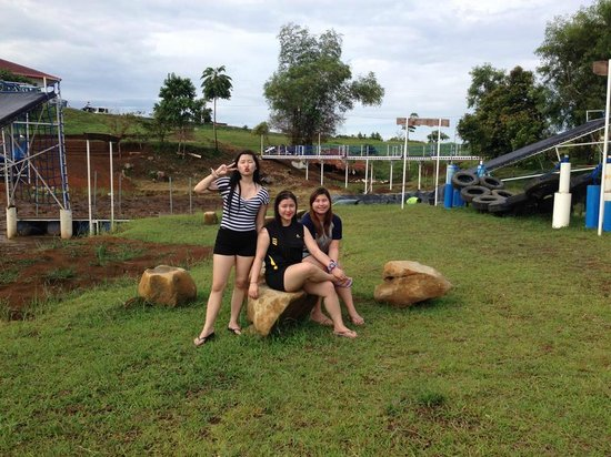 Caliraya Springs: Obstacle Course