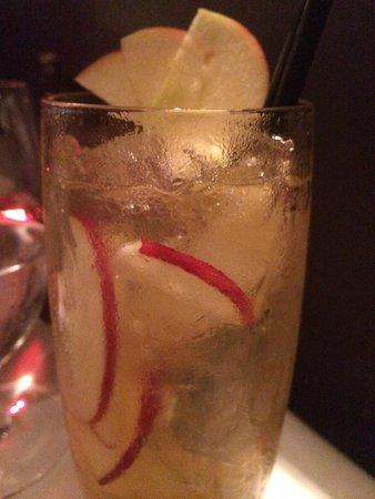 Euro: Apple cider cocktail.