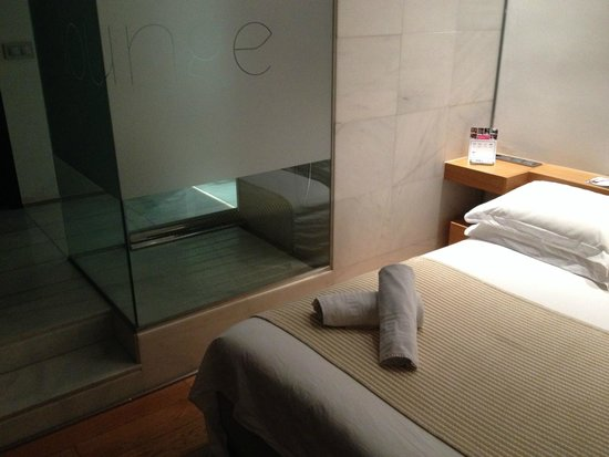 Aire Hotel & Ancient Baths : Particolare della doccia