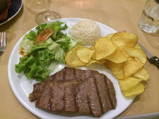 A Picanha: Steak was cooked to perfection!