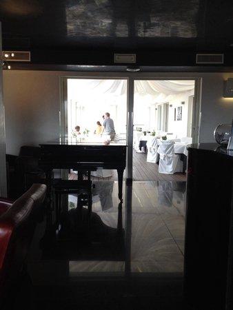 La Griffe Roma - MGallery By Sofitel : Restaurant terrasse