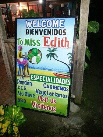 Miss Ediths's Restaurant : Am Eingang