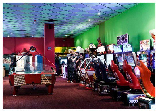 Amuse The Kids For Hours In The Arcade Picture Of Fountainpark Edinburgh Tripadvisor
