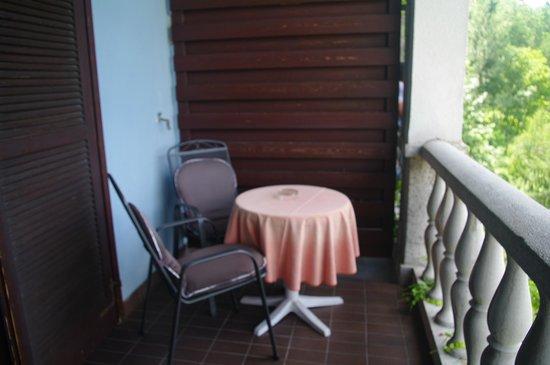 Garni Hotel Jadran - Sava Hotels & Resorts: Balcon