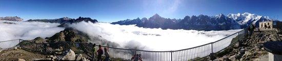 Telepherique du Brevent : Panorama du sommet du Brévent