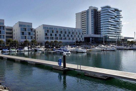 Blue & Green Troia Design Hotel: Вид от парома
