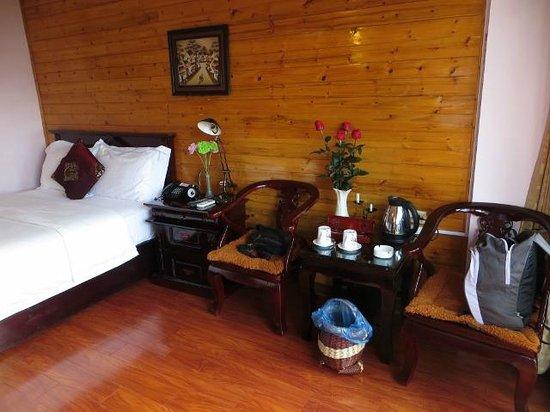 Sapa Paradise View Hotel: Habitación