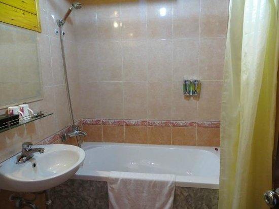 Sapa Paradise View Hotel: Baño