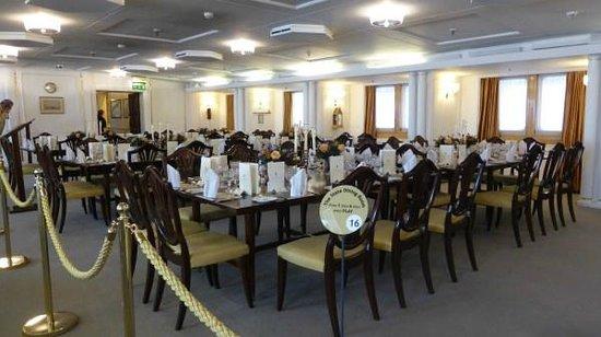 Britannia (navire) : Dining Room