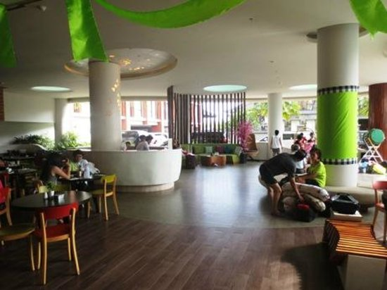 Ion Bali Benoa Hotel: reception