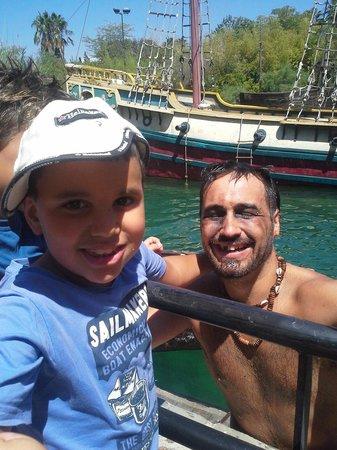 Parque Isla Magica : El pirata malisimoo
