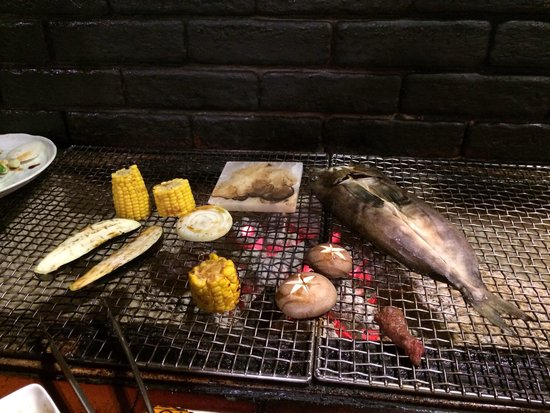 Robata Renga : Yummy food