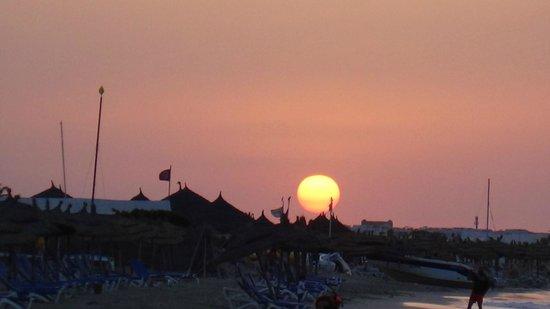 Iberostar Mehari Djerba : couche de soleil