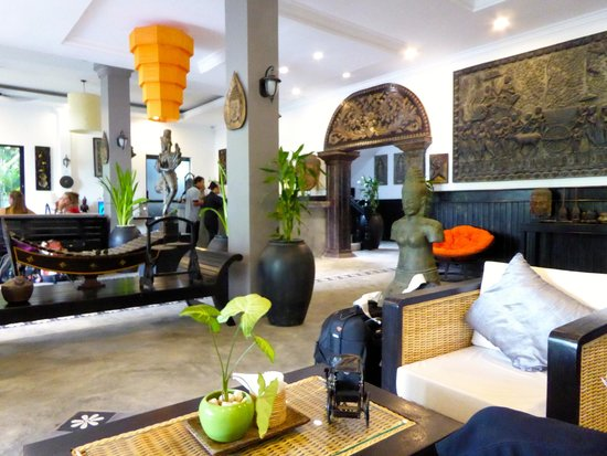 The Cyclo d'Angkor Boutique Hotel: Lobby